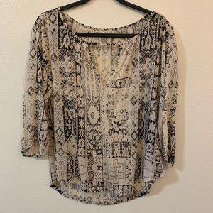 Urban boho blouse